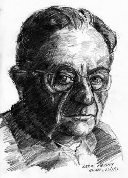 에리히 프롬, 정신과 의사, 유태계 독일인으로 나치가 집권하자, 이를 피해 미국으로 떠났다. 그는 히틀러와 독일 국민이 근대적 불안에서 도피하기 위해 남을 지배하고, 권위에 복종하려 했다고 주장했다.  - flickr(Arturo Espinosa)  제공